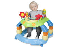 Delta Children Blue Walker (456) Lil Play Station II 3-in-1 Activity Center, with Setting b1b