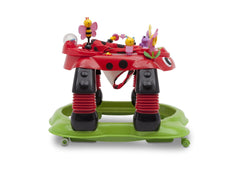 Delta Children Sadie the Ladybug (559) Lil Play Station II 3-in-1 Activity Center, Side View e2e