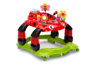 Delta Children Sadie the Ladybug (559) Lil' Play Station 4-in-1 Activity Walker Right Silo View