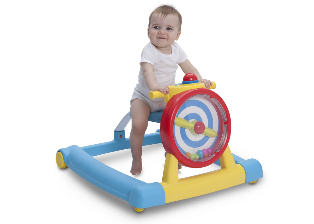 Delta Children 3-in-1 Activity Lil' Airplane Walker (22475-2278), Model 2, a7a