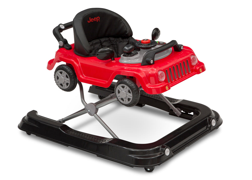 Jeep® Classic Wrangler 3-in-1 Grow With Me Walker Red (2312) Right Silo View