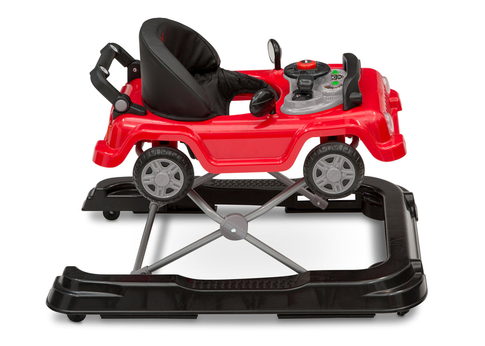 Jeep® Classic Wrangler 3-in-1 Grow With Me Walker Red (2312) Side Silo View