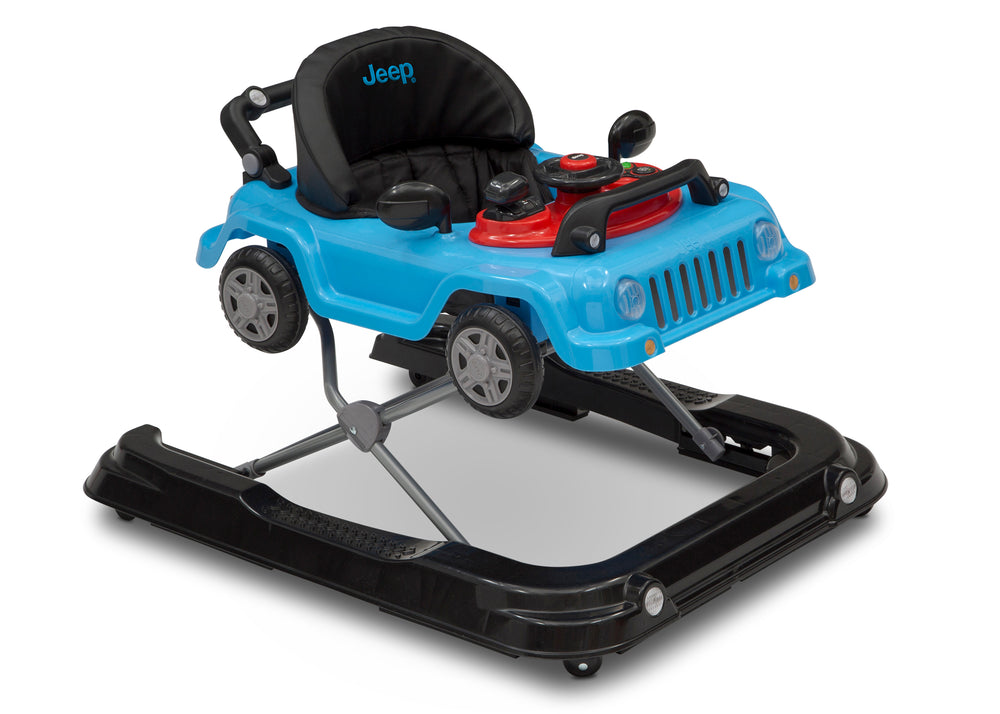 Jeep® Classic Wrangler 3-in-1 Grow With Me Walker Blue (2315) Right Silo View