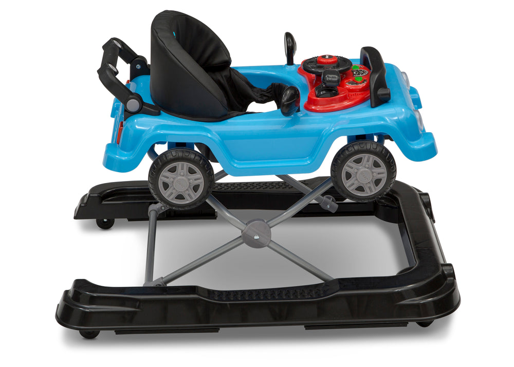 Jeep® Classic Wrangler 3-in-1 Grow With Me Walker Blue (2315) Side Silo View