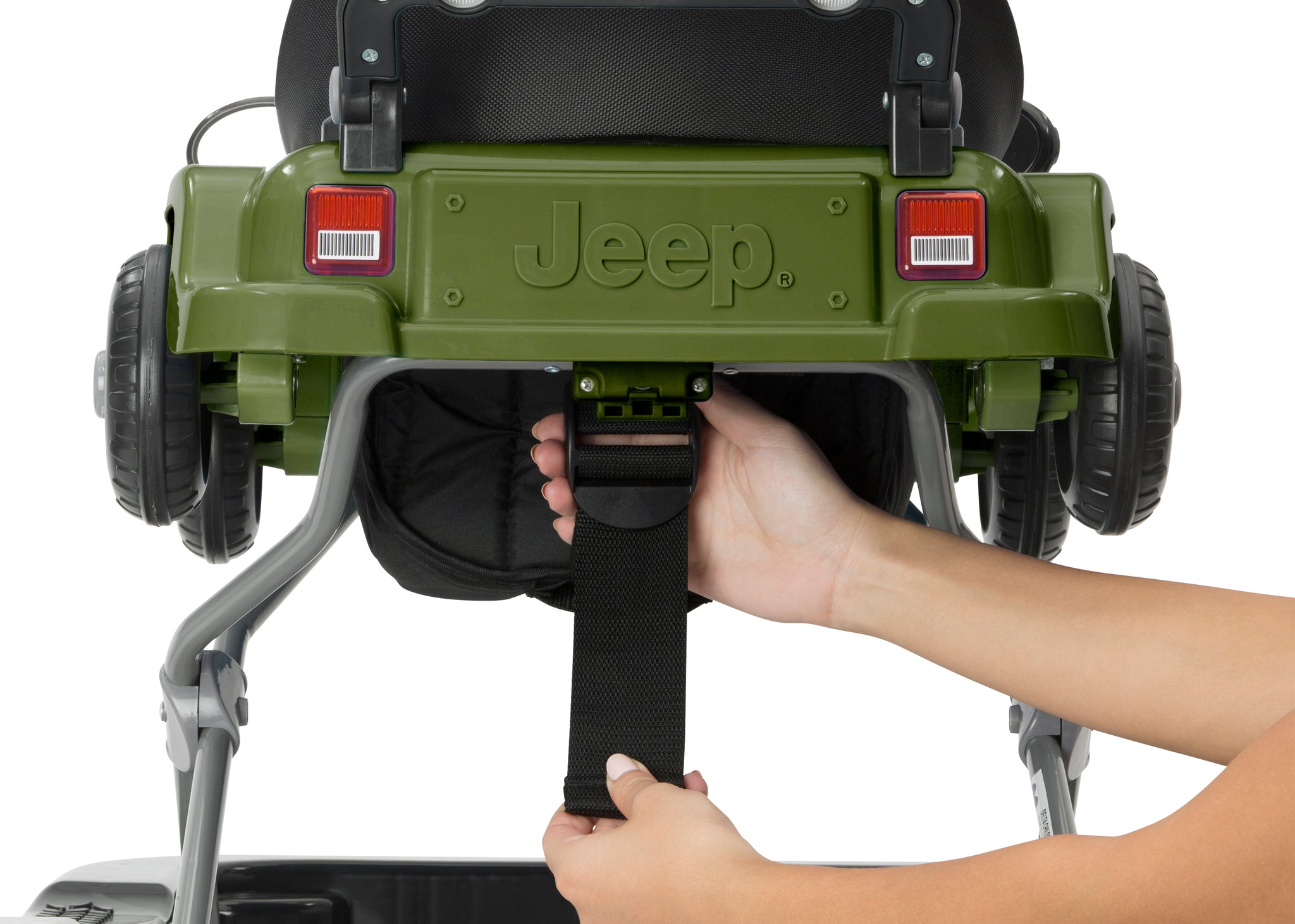 Jeep® Classic Wrangler 3-in-1 Grow With Me Walker, Anniversary Green (348),Adjustable seat height