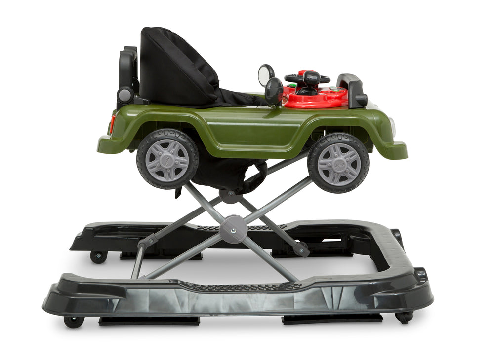 Jeep® Classic Wrangler 3-in-1 Grow With Me Walker Anniversary Green (348) Side Silo View