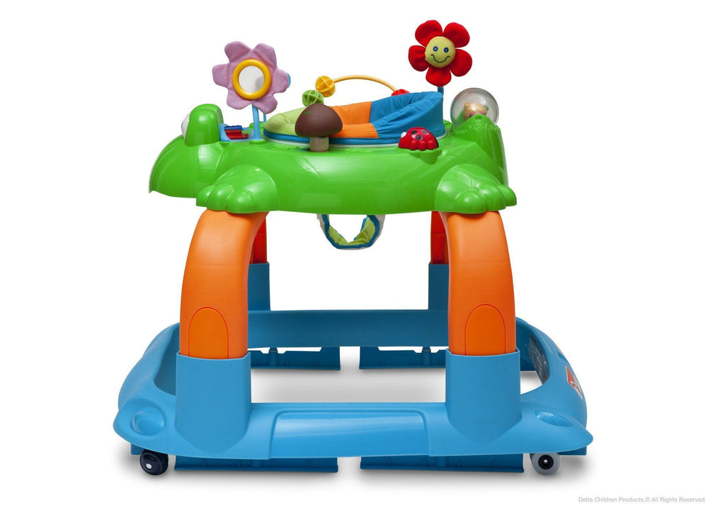 Delta Children Lil' Frog 2-in-1 Walker Full Side View