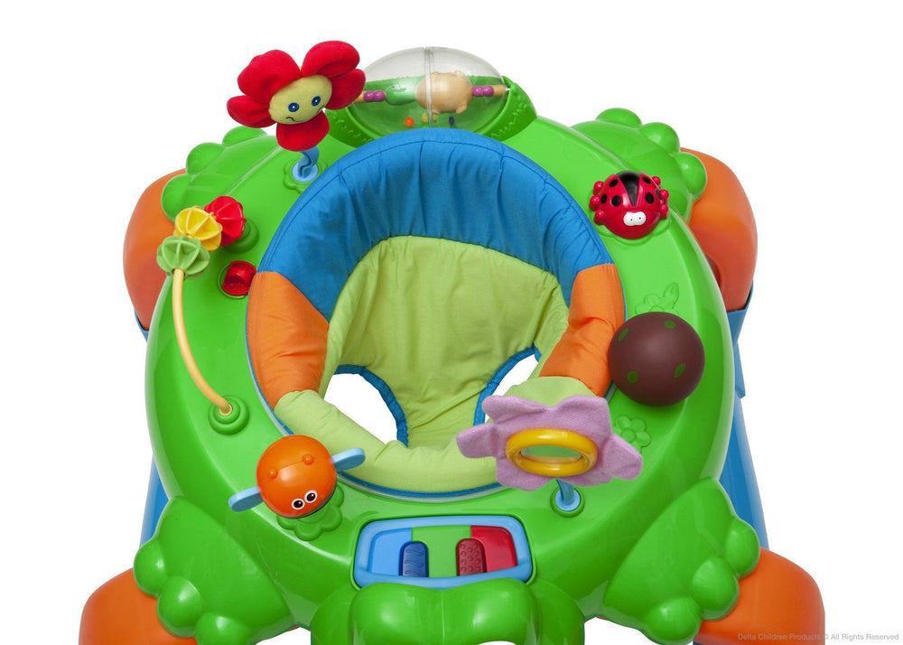 Delta Children Lil' Frog 2-in-1 Walker Bird's Eye View