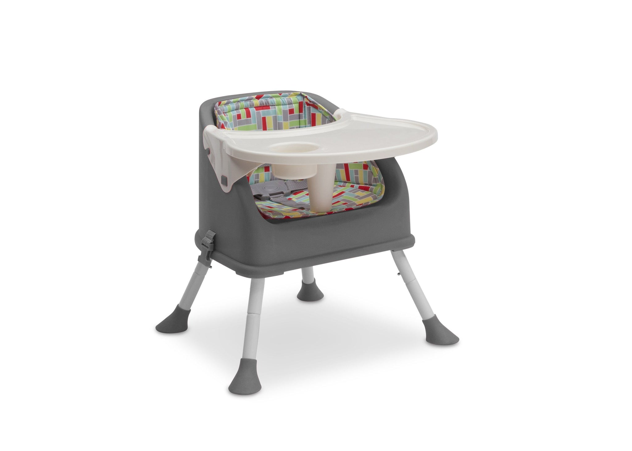 Delta Children Grey (026) Perfect Fit Multi-Use High Chair (23012), High Chair 3, a5a