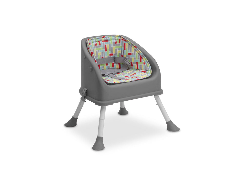 Delta Children Grey (026) Perfect Fit Multi-Use High Chair (23012), High Chair 2, a4a