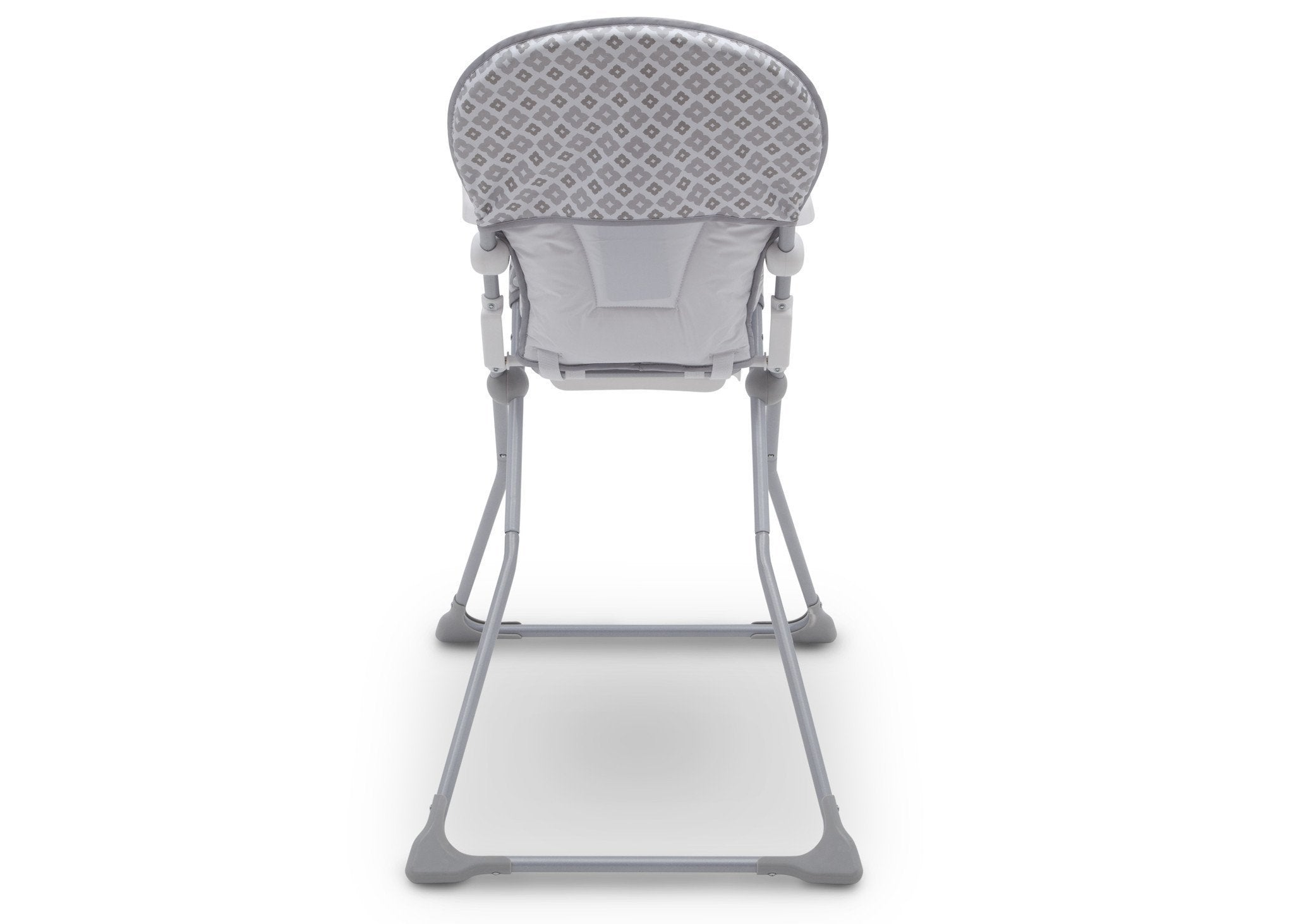 Delta Children EZ Fold High Chair Glacier (2069) Back View, b7b