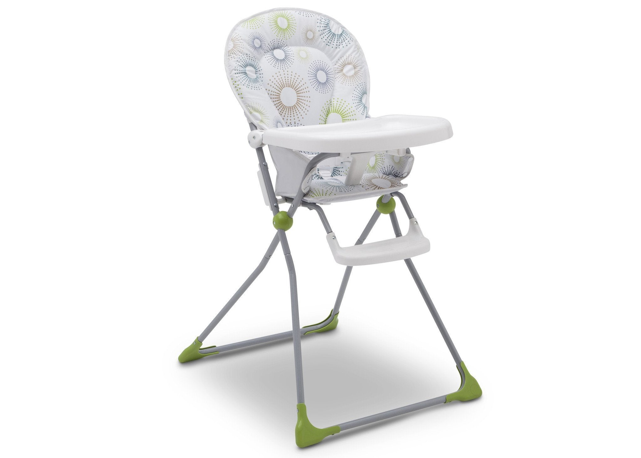 Delta Children EZ Fold High Chair Starburst (388) Right Angle, a1a