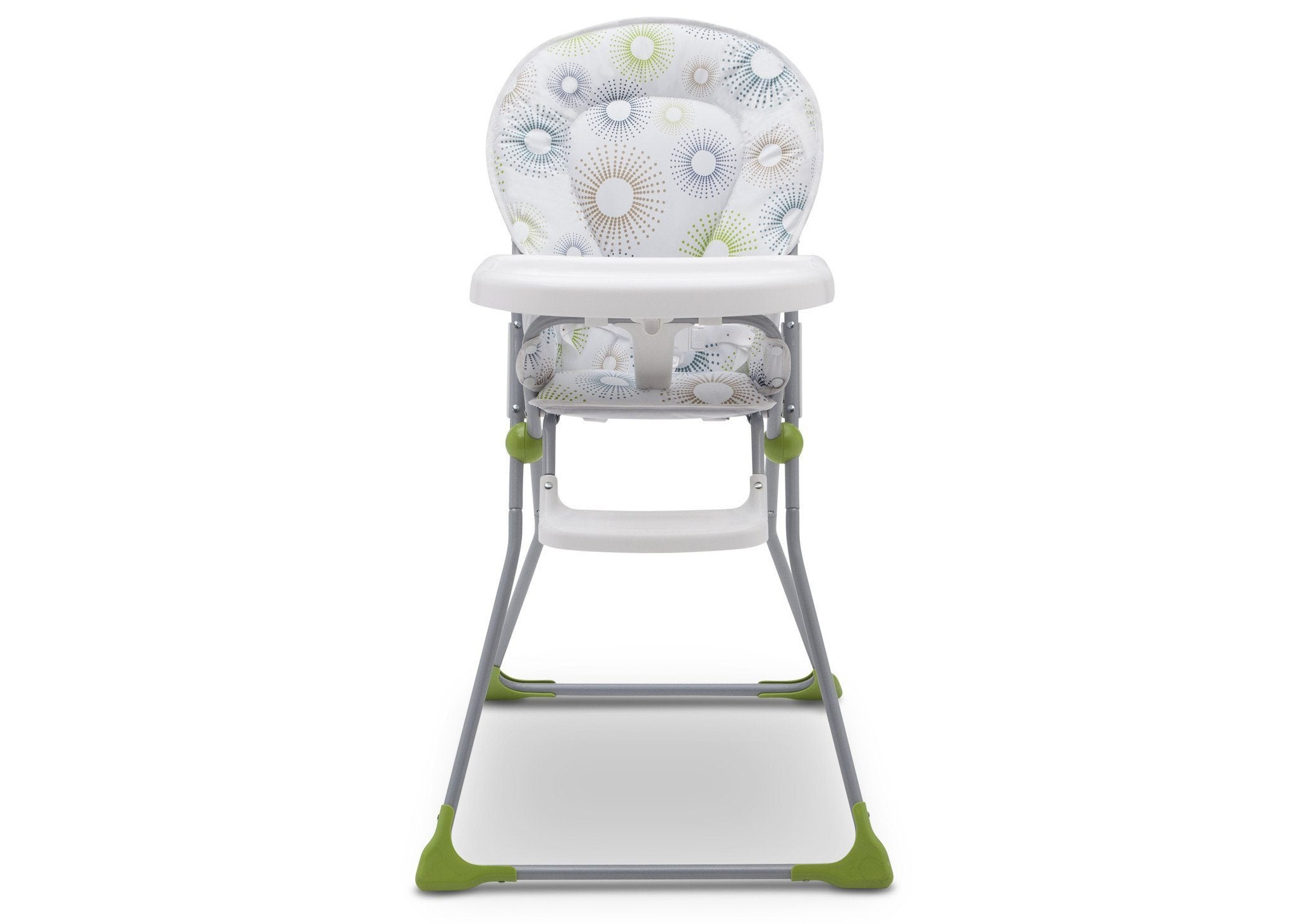 Delta Children EZ Fold High Chair Starburst (388) Front View, a5a