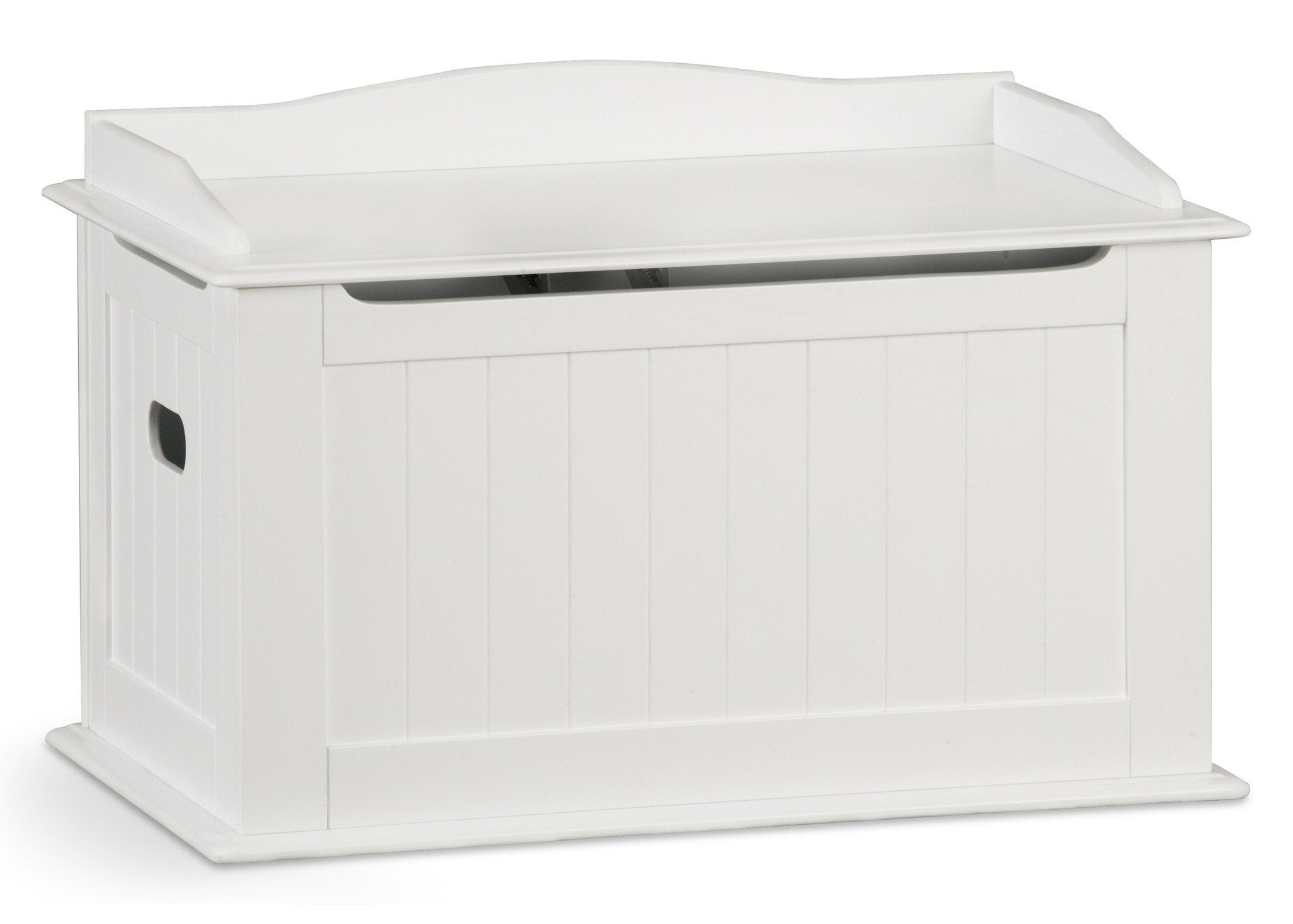 Delta Children White (100) Solutions Toy Box a1a