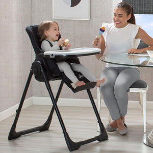 Jeep Classic Convertible High Chair for Babies and Toddlers, Midnight Black (2013), Lifestyle View b1b