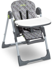 Delta Children Fairway (340) J is for Jeep Brand Classic High Chair, Adjustable Height, Right Angle, a5a