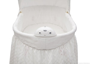Delta Children Turtle Dove (113) Deluxe Sweet Beginnings Bassinet, Electronic Music Module a4a