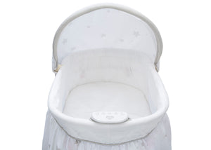 Delta Children Stardust (2066) Deluxe Sweet Beginnings Bassinet, Electronic Music Module h4h