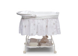 Delta Children Stardust (2066) Deluxe Sweet Beginnings Bassinet, Side View h3h
