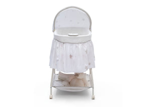 Delta Children Stardust (2066) Deluxe Sweet Beginnings Bassinet, Front Silo View h2h