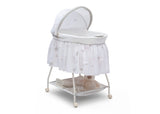 Delta Children Stardust (2066) Deluxe Sweet Beginnings Bassinet, Right View h2h