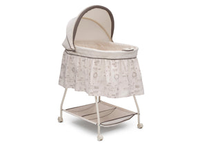 Delta Children Playtime Jungle (270) Deluxe Sweet Beginnings Bassinet, Right Silo View g1g