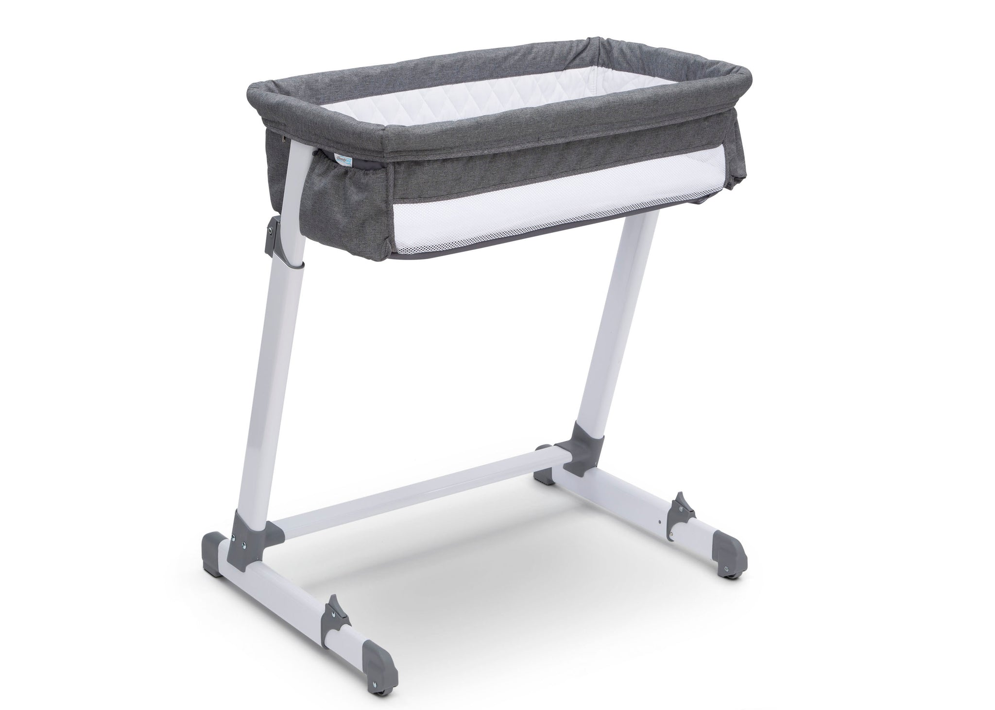 Beautyrest Grey Tweed (2012) Deluxe By the Bed Bassinet (25501), Silo , a3a