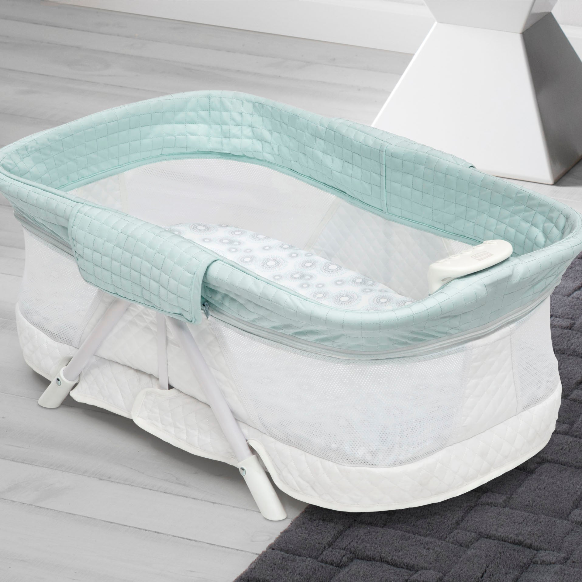 Ultra-Compact Travel Bassinet
