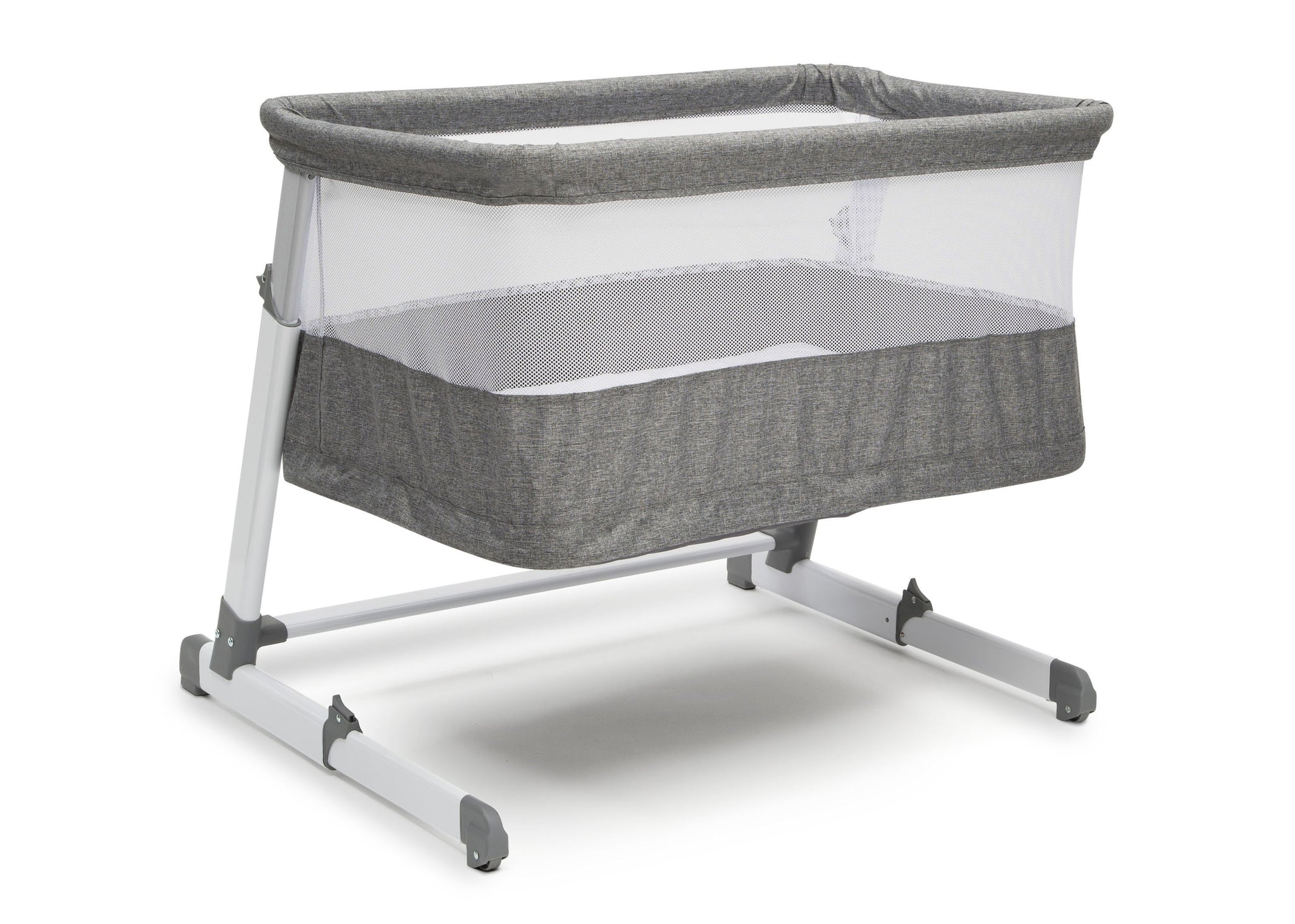 Beautyrest Grey Tweed (2012) Room2Grow Newborn Bassinet to Infant Sleeper (25502), Silo High, a2a