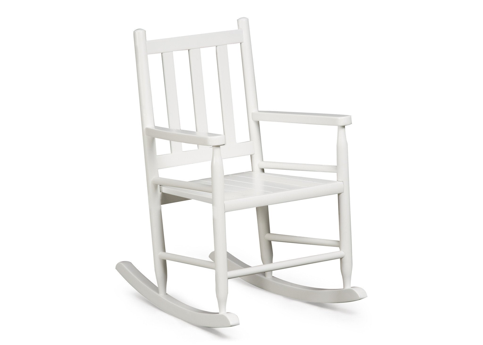 Delta Children White (100) Solutions Rocking Chair Right View A1a