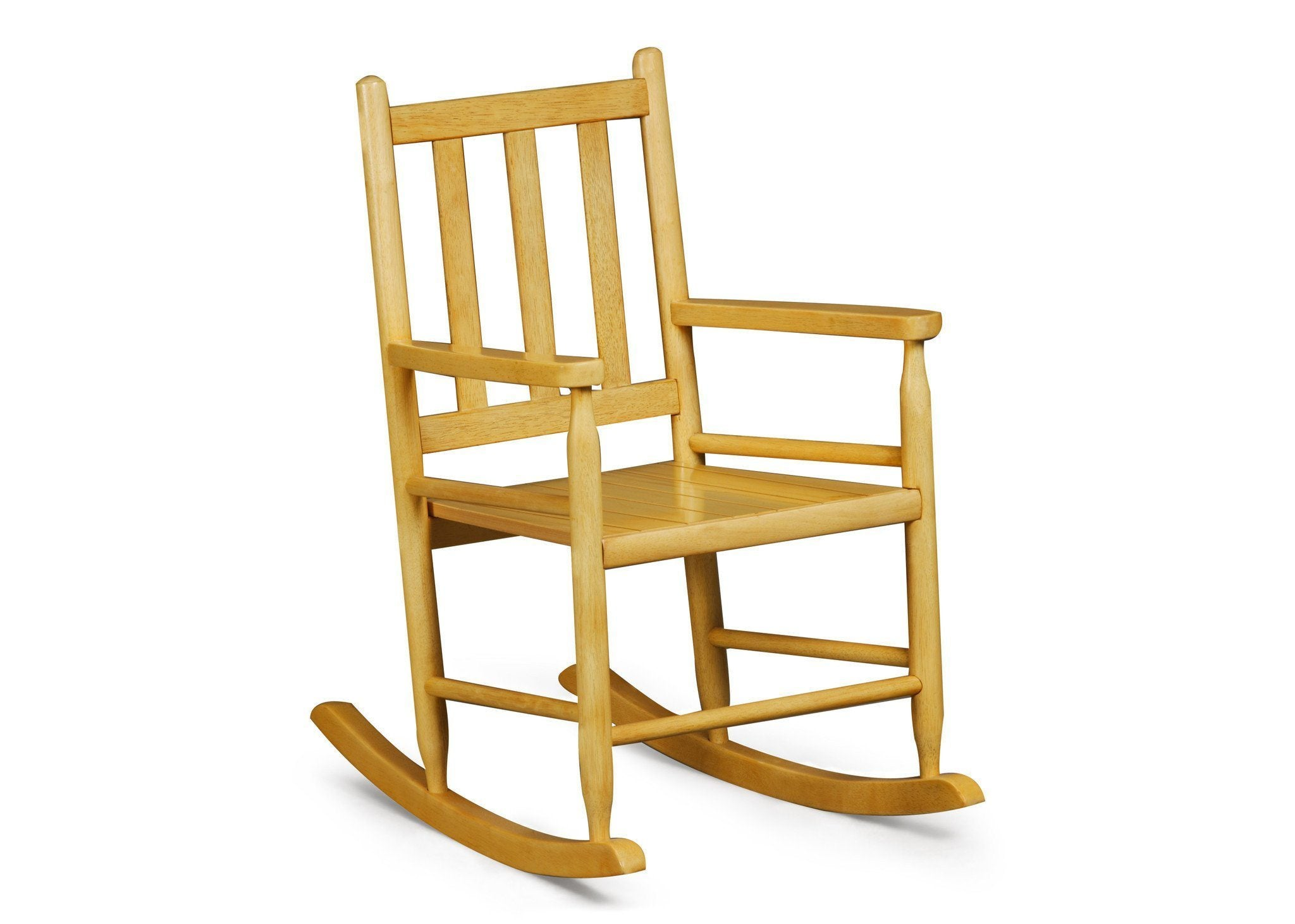 Delta Children Natural (260) Solutions Rocking Chair Right View b1b