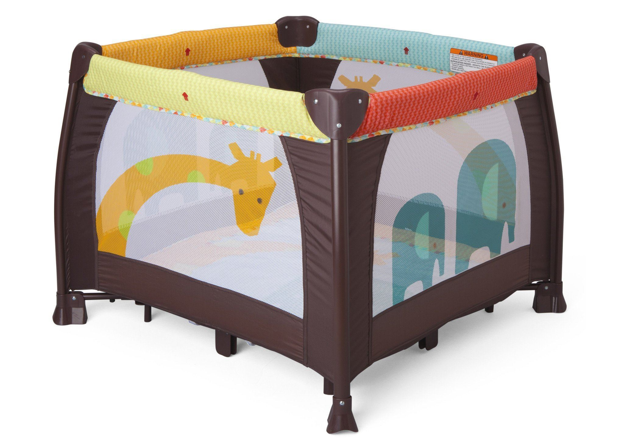 Delta Fun Time 36 x 36 Playard, Front View Novel Ideas (241) a1a