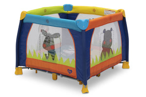 Delta Children Fun Time 36 x 36 Playard, Fun Time Green (302) b2b