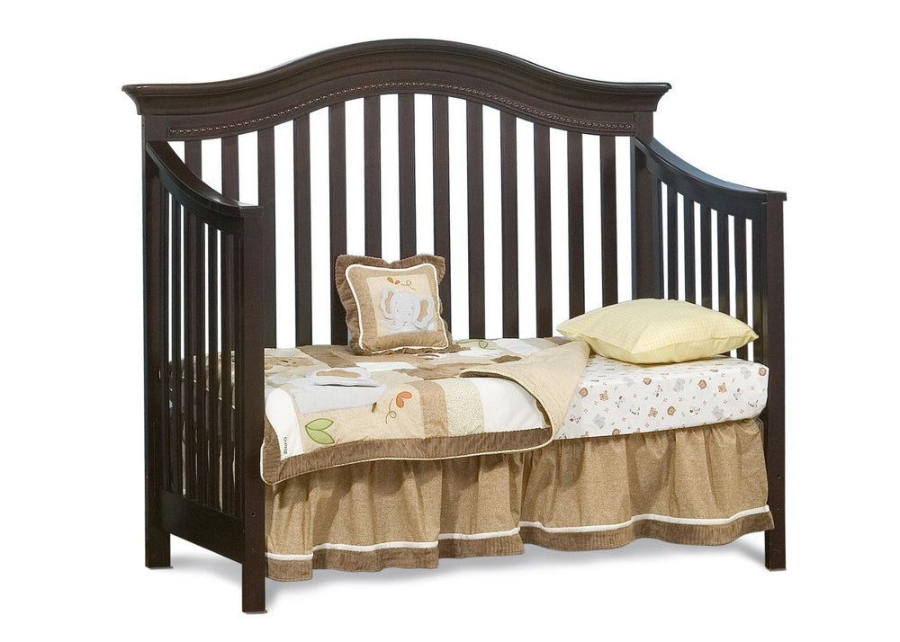 Simmons Kids LaBrosse Cherry (26) Vancouver Crib, Daybed Conversion a3a