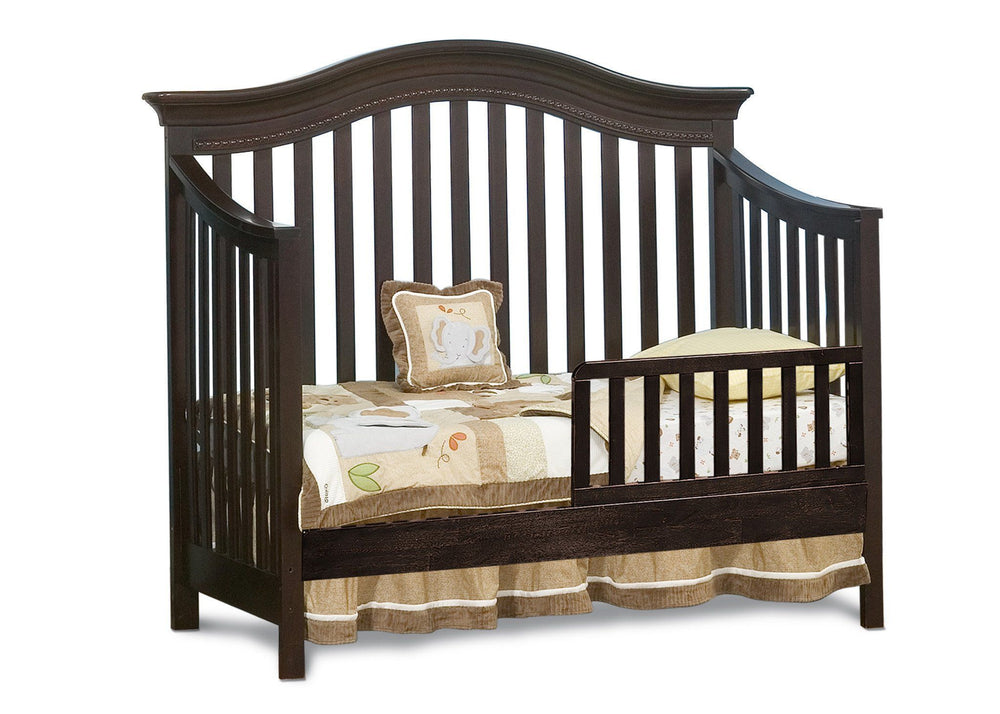 Simmons Kids LaBrosse Cherry (26) Vancouver Crib, Toddler Bed Conversion a2a