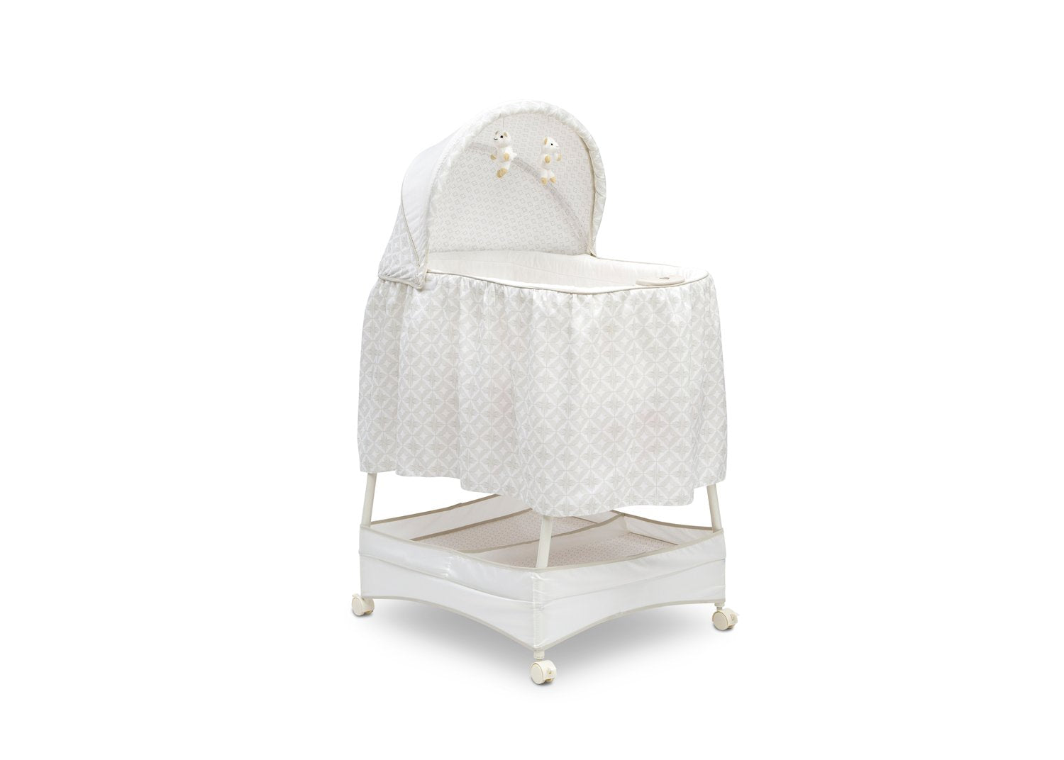 Delta Children Illusions (2067) Gliding Bassinet Right Silo View