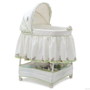 Delta Children Peter Rabbit Gliding Bassinet, Right Side View a1a