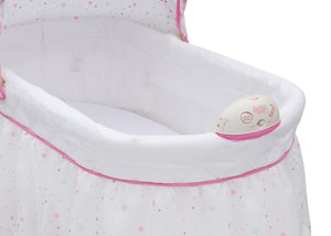 Delta Children Minnie Boutique (668) Ultimate Sweet Beginnings Bassinet (27202) Button Detail, a4a