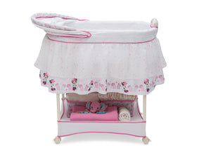 Delta Children Minnie Boutique (668) Ultimate Sweet Beginnings Bassinet (27202) Canopy, a3a