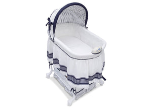 Delta Children Marina (407) Smooth Glide Bassinet, Glory View a4a