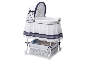 Delta Children Marina (407) Smooth Glide Bassinet, Right Side View a1a