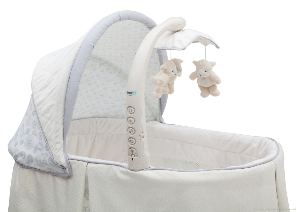 Simmons Kids Paisley (091) Beautyrest Studio Gliding Bassinet (27303) Detail a4a