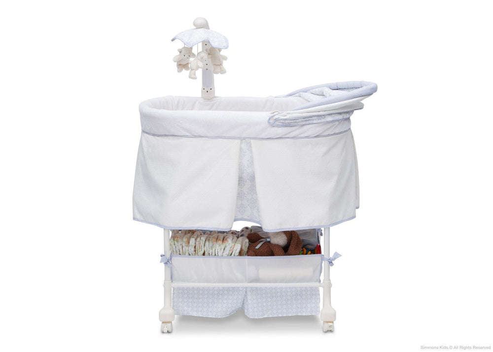 Simmons Kids Royalton (527) Beautyrest Studio Gliding Bassinet (27303) Canopy Option b2b