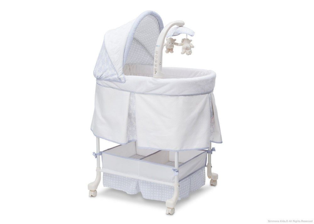 Simmons Kids Royalton (527) Beautyrest Studio Gliding Bassinet (27303) Right Side View b1b