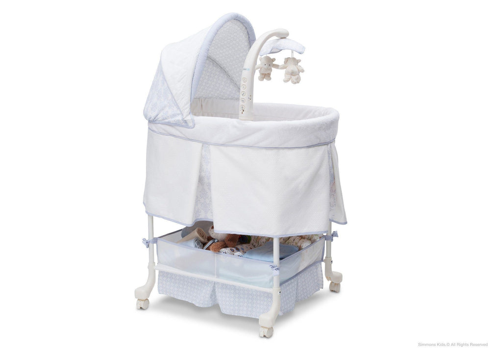 Simmons Kids Royalton Beautyrest Studio Gliding Bassinet (27303) Right Side View