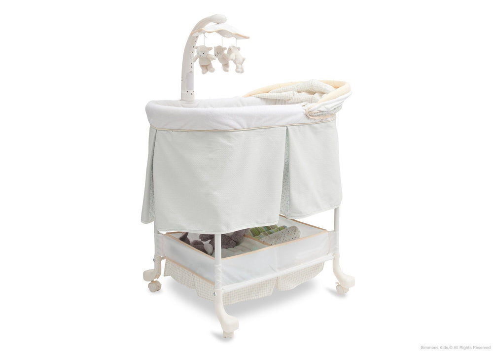Simmons Kids Sunshower (742) Beautyrest Studio Gliding Bassinet (27303) Right Side View