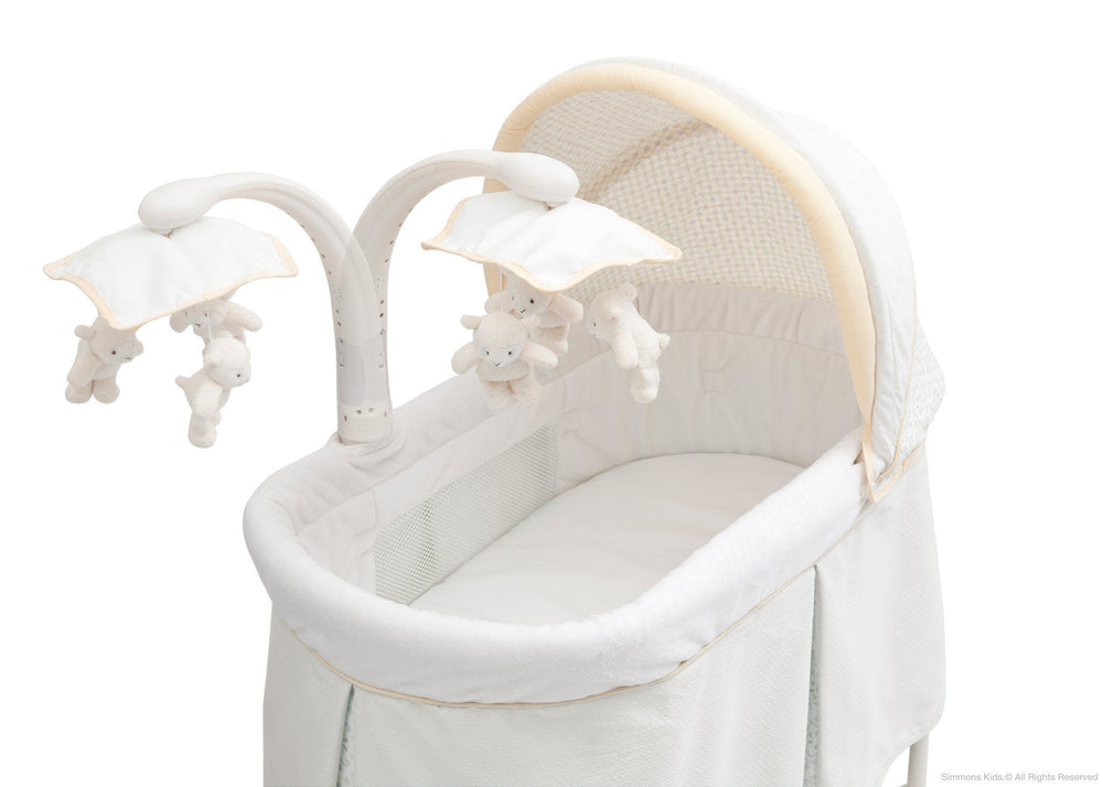 Simmons Kids Sunshower (742) Beautyrest Studio Gliding Bassinet (27303) Detail c3c