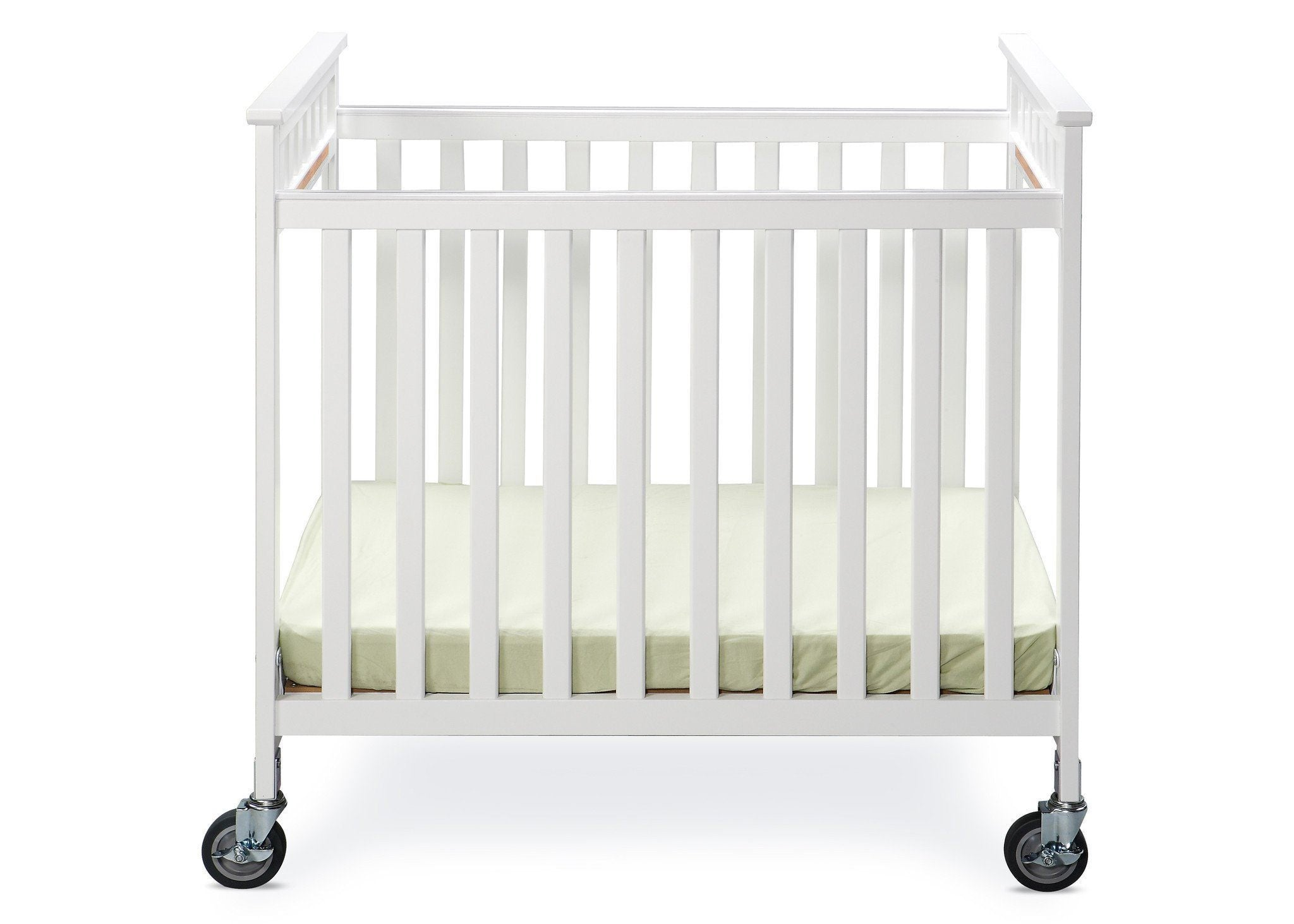 Simmons Kids White (100) Scottsdale Crib, Front View 2 a1a