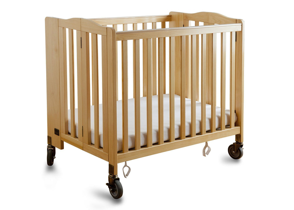 Simmons Kids Natural (260) Foldaway Crib a1a