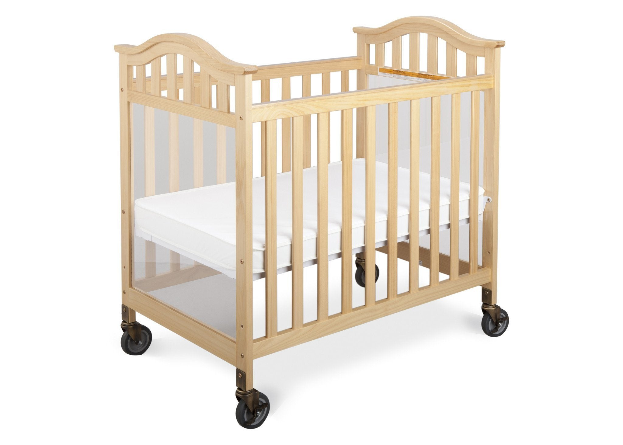 Simmons Kids Natural (260) Peyton Crib, Right Side View b2b